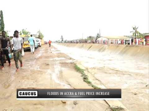 Flood in Accra & Fuel Price Increase  Minority Caucus on Joy News (9-6-16)