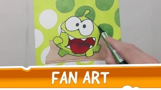 Fan Made: Cut the Rope Drawing