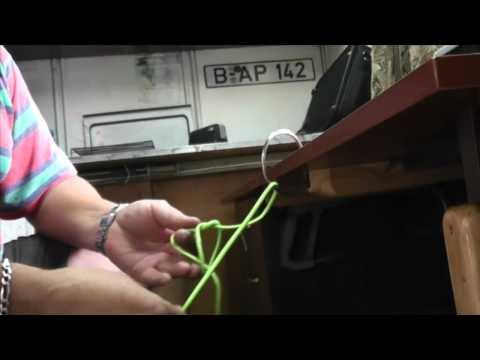 Булинь простой способ вязания узла