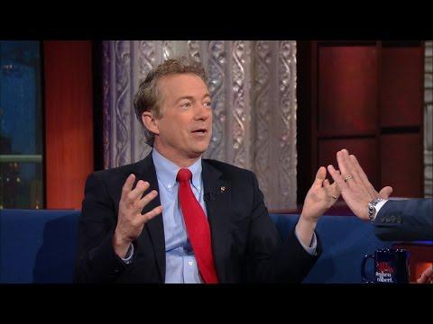 Rand Paul Talks About Trump, Libertarians And NOT Pot