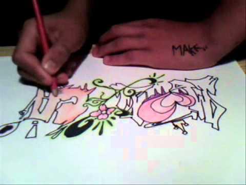 Te amo monica graffiti - Imagui