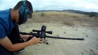 Tippmann a5 sniper shooting/review  (not final video)