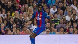 Samuel Umtiti - FC Barcelona v Celtic (13/9/2016) (Individual Performance)
