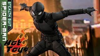 PREVIEW Hot Toys HOMEM-ARANHA LONGE DE CASA Traje Furtivo - Spider-Man Far From Home Stealth Suit