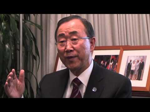 Funny stories &#8211; Behind the scenes with UN Secretary-General Ban Ki-moon