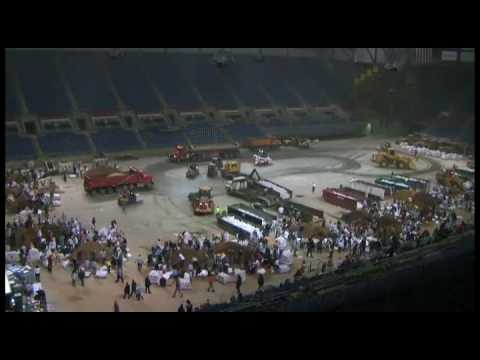 MPR News: Time lapse - Sandbagging at the Fargodome