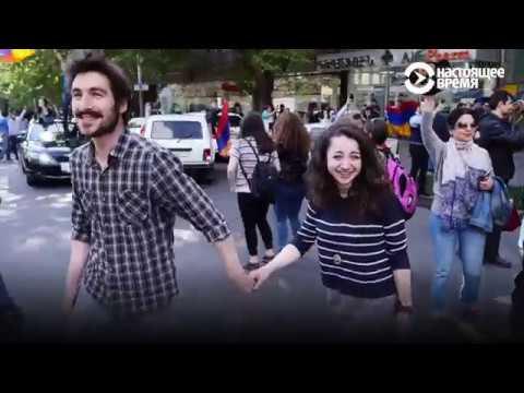 """""""Бархатная революция"""" в Армении: как это было"""