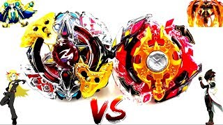 Legend Spriggan .7.Mr VS Galaxy Zeus .4M.Pl - Red Eye vs Zac - Beyblade Burst God Evolution Battle!!