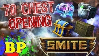 SMITE | Opening 70 Chests! | Biggest Chest Opening Yet!