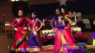 Hindi  Christmas dance 2015