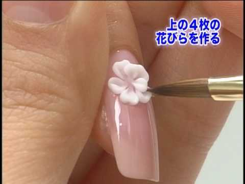 Advance Japan Nail Art Lesson  Part 3