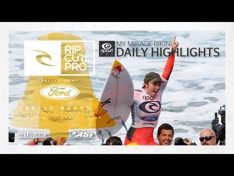 Women's Final Daily Highlights - Rip Curl Women's Pro Bells Beach 2013