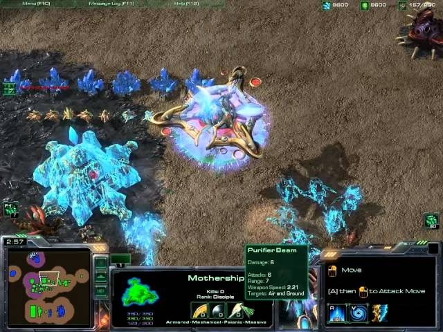 StarCraft 2 - Heart of the Swarm Beta - Núcleo da Nave Mãe - Mothership Core