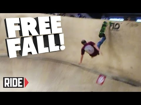 FREE FALL! Skateboarding Slams - James Hewett