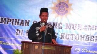 Pengajian Muhammadiyah Ustad Masduki 13 Desember 2015