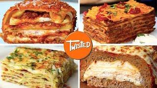 10 Epic Lasagna Recipes | How To Make Lasagna 10 Ways | Twisted