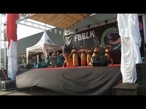 Juara 1 Tari kreasi FBBLK (Festival Budaya Bumi Lawang Kuari) 2016