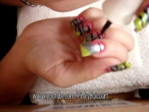 Tropical Jungle: nail tutorial Video