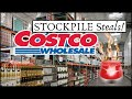 🚨20 BEST EMERGENCY COSTCO Deals 🔥Stockpile, Prepping Shopping Tips + List ✔ October - November 2020