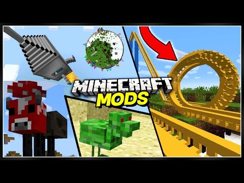 10 BEST Minecraft Mods For Minecraft (Top 10 Minecraft Mods)