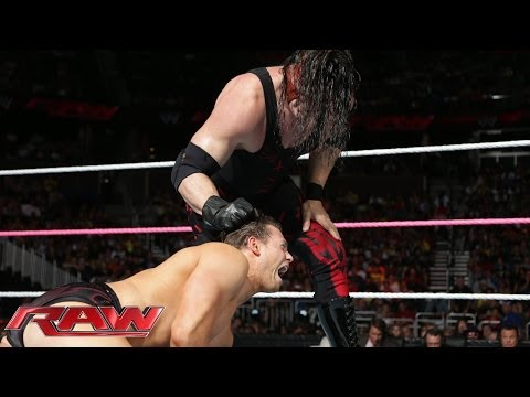 Kane Unmasks - The Miz Vs. Kane: Raw, Oct. 28, 2013 video