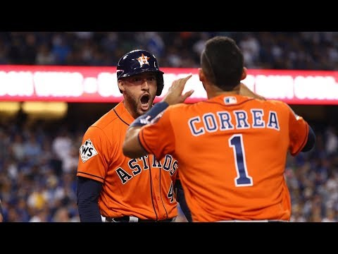 Houston Astros vs. LA Dodgers 2017 World Series Game 7 Highlights | MLB