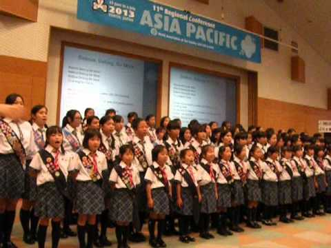 """Believe, Belong, Be more"" - theme song of WAGGGS 11th Asia Pacific Regional Conference"