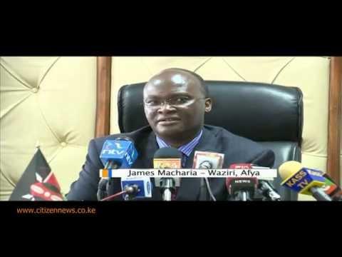 Kenya Yaonywa Dhidi  Ya Maambukizi Ya Ebola