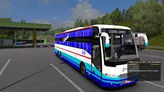 🔴 Euro Truck Simulator 2 Indian Bus Mod [KPN Travels Volvo Sleeper]