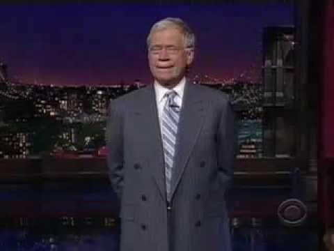 Letterman Rips Sarah Palin And Her Daughter