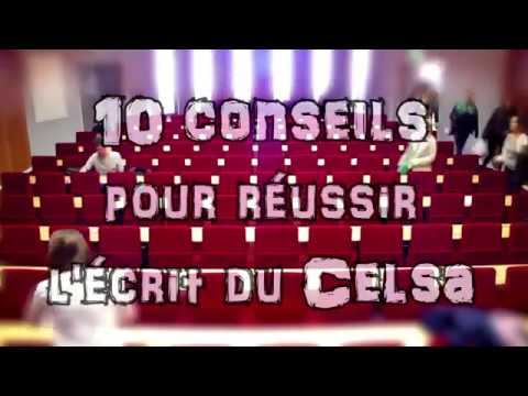 10 CONSEILS POUR RÉUSSIR L'ÉCRIT DU CELSA !