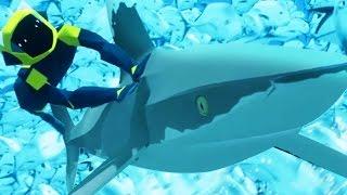 Download Lagu RIDING A SHARK THROUGH A FISH TORNADO - ABZU Gameplay Part 2 | Pungence Gratis STAFABAND