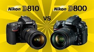 Nikon D810 vs Nikon D800/E