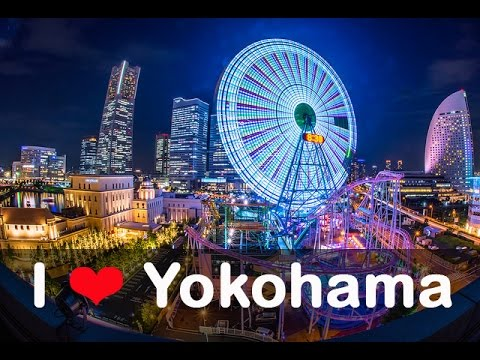Minato Mirai Bay Area Yokohama Visual Tour みなとみらい 横浜