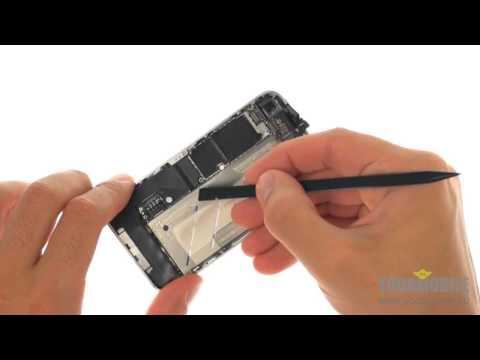 Замена экрана на iPhone 4 за 25 минут.