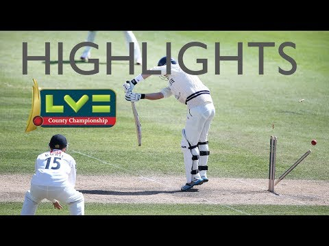 Fixtures to watch: Sussex v Middlesex - 0:17 Nottinghamshire v Lancashire - 2:28 Surrey v Glamorgan - 4:26 Hampshire v Worcestershire - 5:20 Highlights from ...