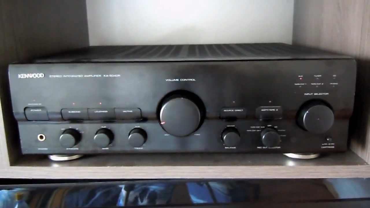 Kenwood Ka-5040r Amplifier Test