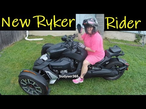 New Can-Am Ryker Rider - First Time Riding on the Road in Traffic