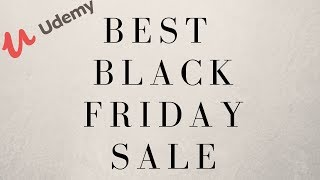 Top  5 Courses On Udemy You Should Buy For Black Friday!