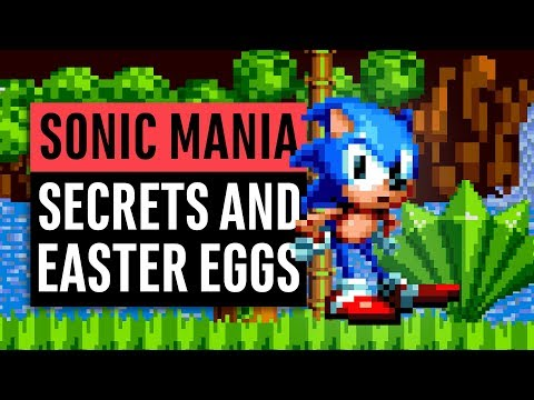 Sonic Mania | 40 Easter Eggs, Secrets and References
