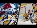 04/12/18 First Round, Gm1: Avalanche @ Predators
