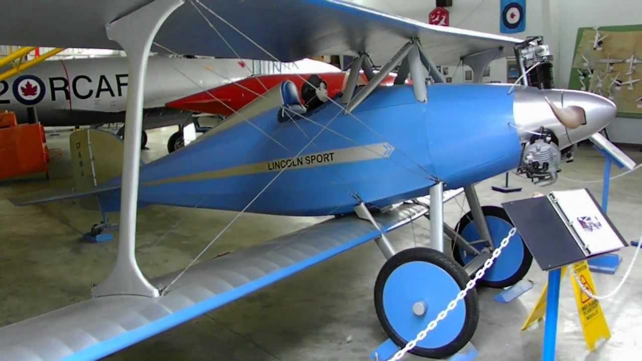 bi Plane Lincoln Sport British