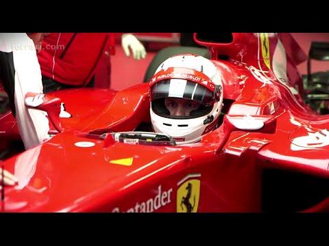 Vettel's debut in Fiorano