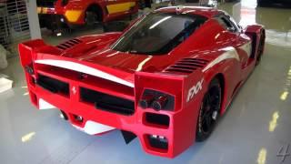 Ferrari FXX - Start up & Revs!