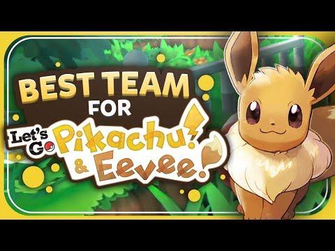 Best Team for Let's Go Pikachu/Eevee