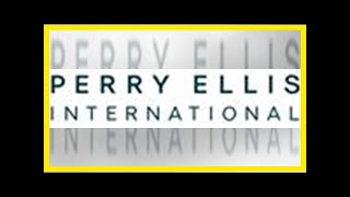 Breaking News | Perry Ellis International Enters into a $437 Million Transaction to Become a Privat