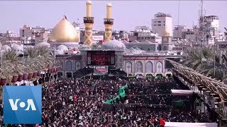 Shi'ite Muslims Travel to Iraq to Mark Annual Arba'een Pilgrimage