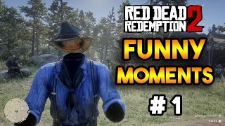 RDR2 : FUNNY MOMENTS AND FAILS COMPILATION #1