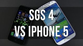 Samsung Galaxy S4 vs iPhone 5 full comparison