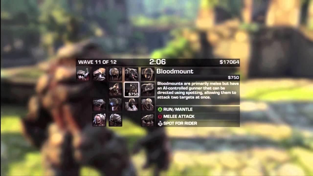 Beast Mode Gears of War 3 Tips Gears of War 3 Beast Mode